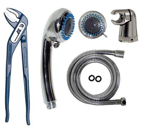 telefono della doccia sostituire il flessibile e la manopola doccia e