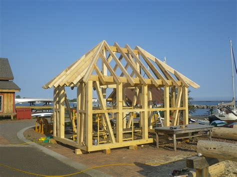german style timber frame  north house folk school gfd