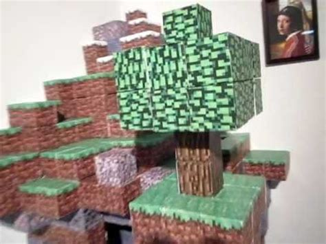 Minecraft Papercraft World - minecraft papercraft