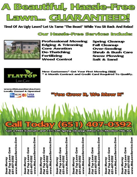 lawn mowing flyer lawn care flyer smilebox planet flyers