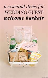 what to put in wedding welcome bags wedding welcome bags 9 things you must include for guests