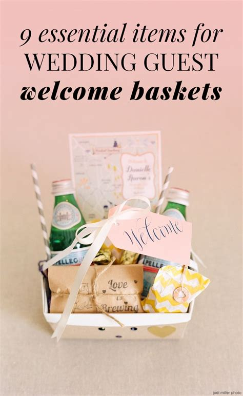 wedding welcome 9 things you must include for guests