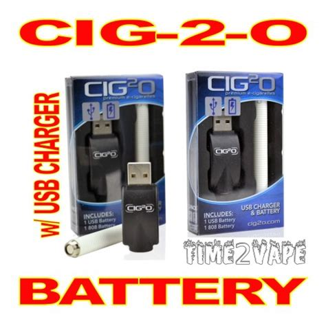 Does Usb Detox Work by Cig 2 O E Cigarette Battery W Usb Charger Electronic