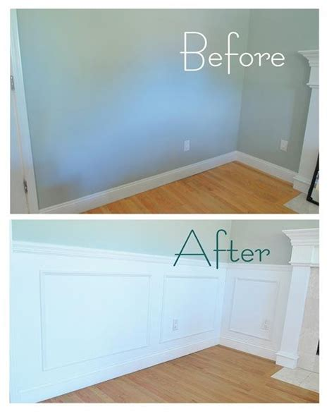 Wainscoting Before And After wainscoting recap and reveal centsational