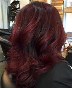 and burgundy hairstyles 50 shades of burgundy hair dark burgundy maroon