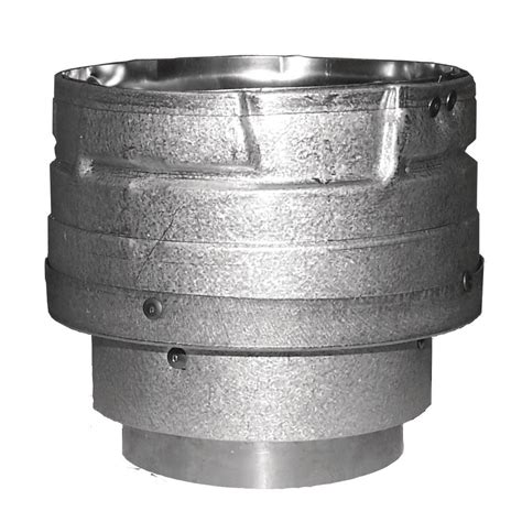 Increaser 4 X 1 1 4 Inch Flok Sok D Superlon Reducer Flock Sock duravent pelletvent 3 in x 4 in wall chimney pipe increaser 3pvl x4ad the home depot