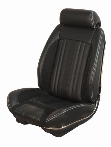 69 chevelle seats 69 chevelle convertible tmi sport r black seat cover set 2