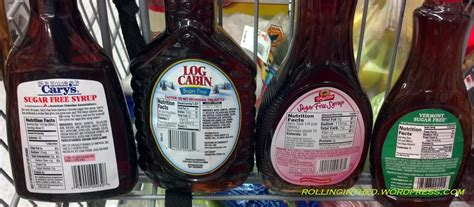 Log Cabin Pancake Syrup by Sticky Math Rolling In The D