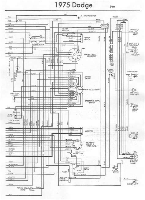 1970 dart wiring diagram free wiring