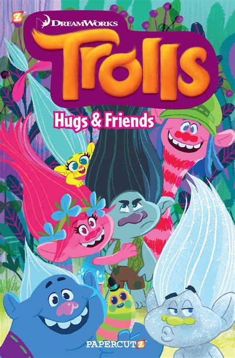 dreamworks trolls poppy lends a hugs book books rich reviews trolls 1 hugs and friends comics news
