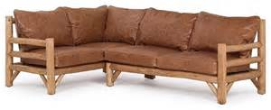 rustic sectional sofas rustic sectional 1257 1259 by la lune collection