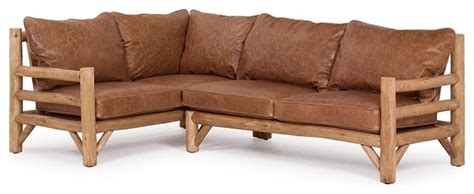 rustic sectional 1257 1259 by la lune collection