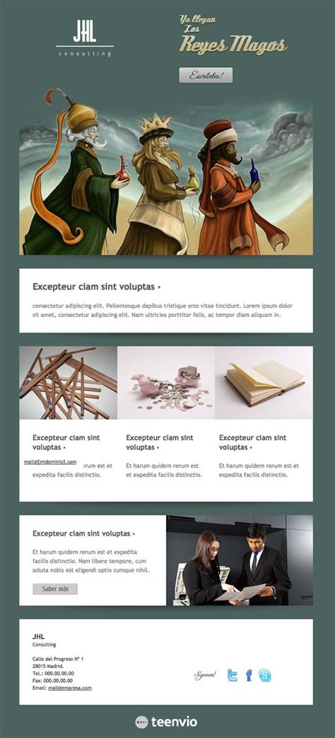 layout para newsletter 33 best newsletters email marketing images on pinterest