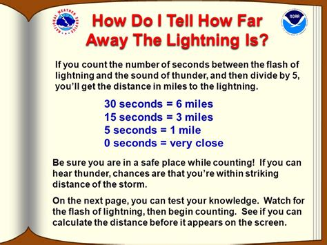 how far can a hear dr lightning s guide to national weather service ppt