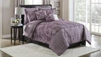 cannon plum silhouette 6 pc comforter set full queen king