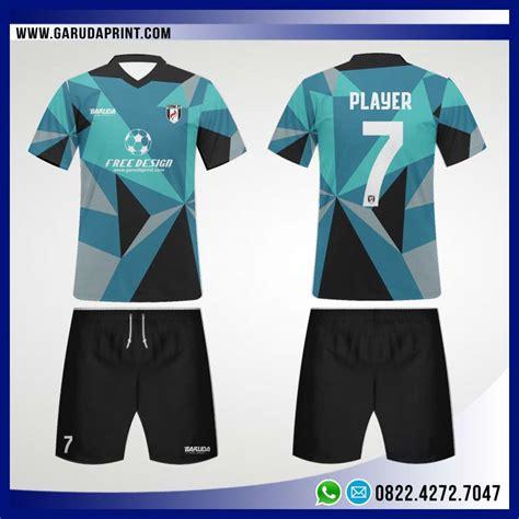 desain kaos futsal format cdr desain jersey bola futsal 86 blue abstract garuda