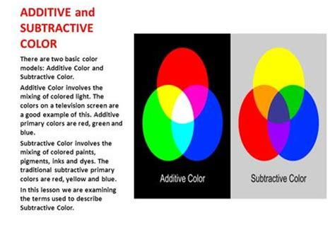 color mixing there are two color theory light symbol emotion ppt download