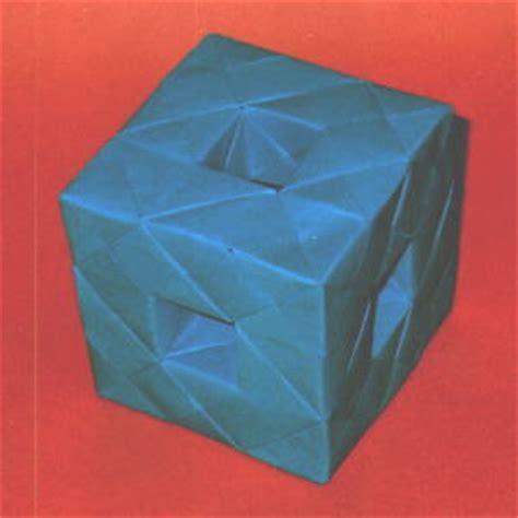 Origami Menger Sponge - menger sponge level 1