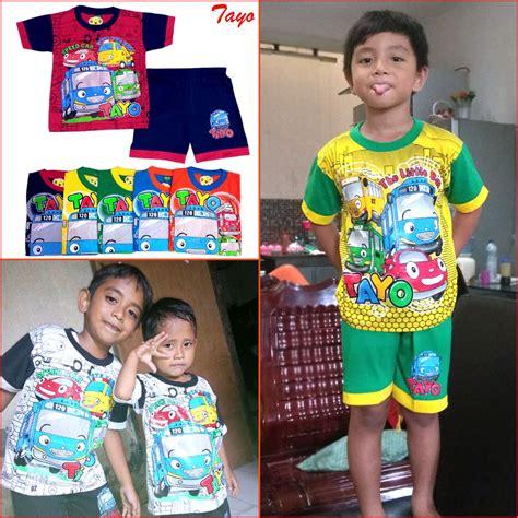 Setelan Tayo tayo 0 10 tahun maruno setelan baju anak pakaian anak