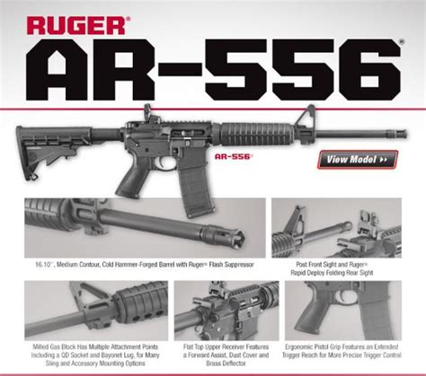 Mba 3 Stock On Ruger Ar 556 by Firearms Is Houston S Best Gun Retailer