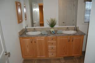 pleasant valley homes standard baths - Oak Vanities For Bathrooms