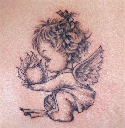tattoo angel child 25 best ideas about baby angel tattoo on pinterest