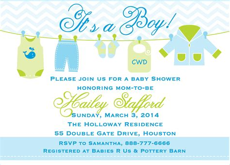 Baby Shower Invitations For Boys Free Templates by Free Printable Baby Shower Invitations Templates For Boys
