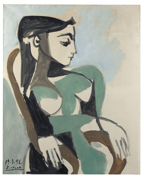 Pablo Picasso 1881 1973 Femme Dans Un Fauteuil
