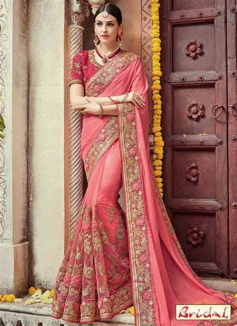 Best Indian Bridal Saree Designs For Weddings In 2019 in