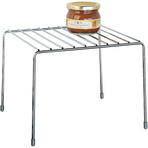 kitchen pantry organizer shelf chrome in cabinet shelves