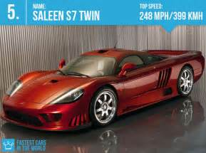 Fastest In The World Fastest Cars In The World 2016 Saleen S7 Top Speed