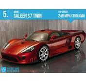 Fastest Cars In The World 2013 4 Saleen S7 Twin Turbo  Top Speed