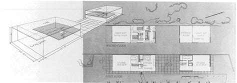 eames house floor plan ad classics eames house charles and eames archdaily