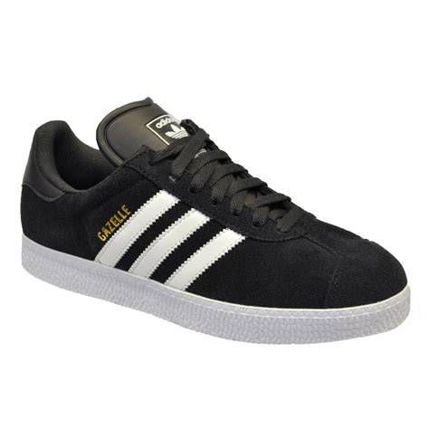 Adidas Suede Black adidas adidas gazelle 2 suede black white z25 g96682 mens trainers adidas from brands