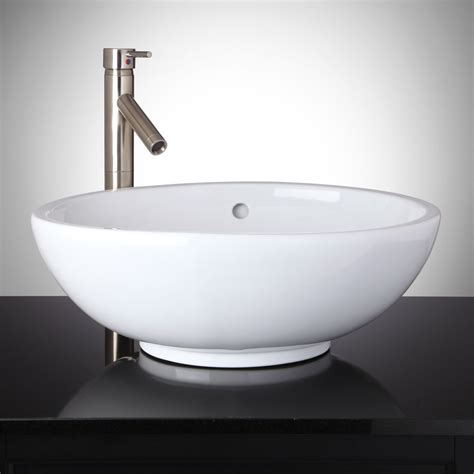 valor oval vessel sink bathroom