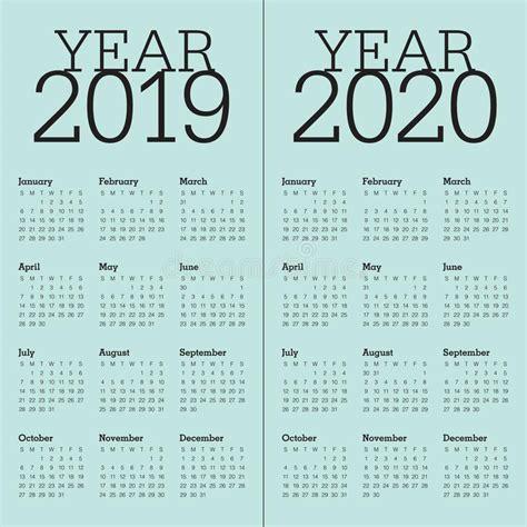 year   calendar vector design template stock vector illustration  design vector