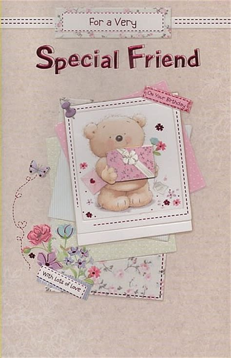 for a very special friend greeting card everyday friend open birthday cards for a very special friend on your