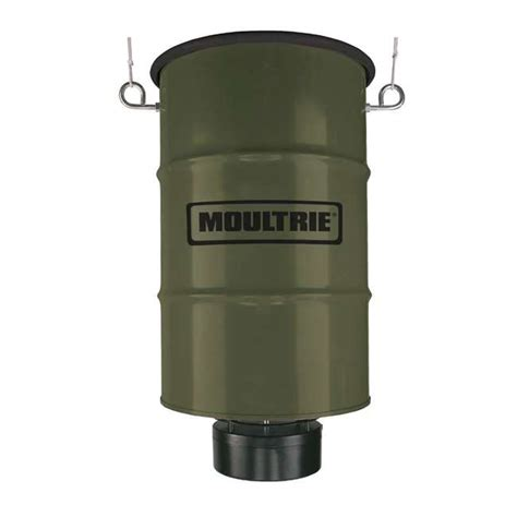 Clearance Deer Feeders Moultrie 30 Gallon Pro Magnum Hanging Deer Feeder W 6v
