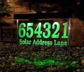 solar address light foter