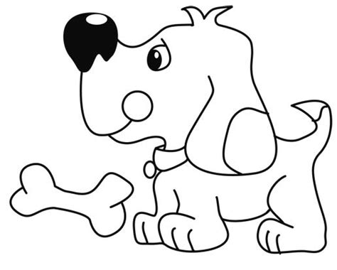 imagenes para colorear un perro perros para colorear