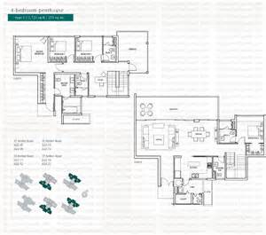 The Floor Plan by The Seaview Singapore Condo Directory