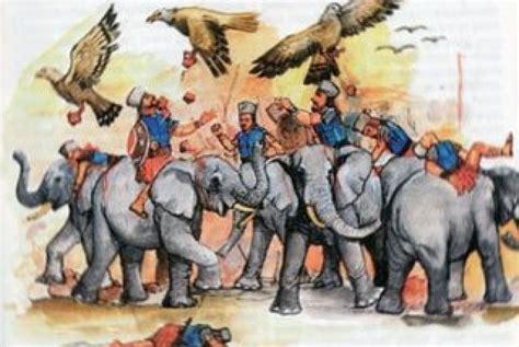 Cerbin Gajah Dan Raja Abrahah kesombongan raja abrahah republika