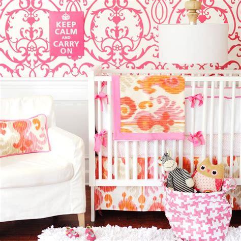 pink and orange nursery contemporary nursery new