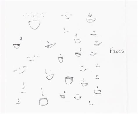 anime eyes nose best photos of anime mouth template how to draw anime