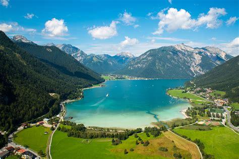 venez visiter le lac achensee au tyrol guide de autriche