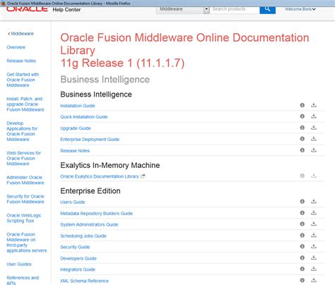 oracle tutorial point obiee in il oracle documentation and tutorials in the new
