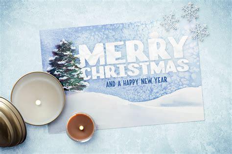 christmas card list office templates