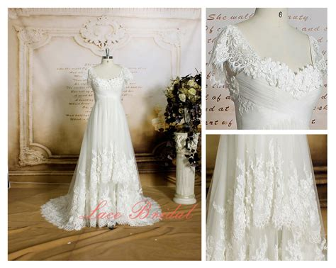 Handmade Flowers For Wedding - wedding dress of handmade flowers ivory color bridal by