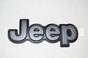 Jeep Emblems Jeep Emblem Trailhawk Tailgate Part No