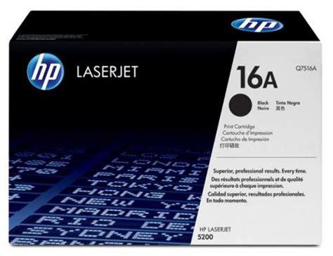 Toner Laserjet 5200 hp 16a q7516a hp 5200 toner genuine new